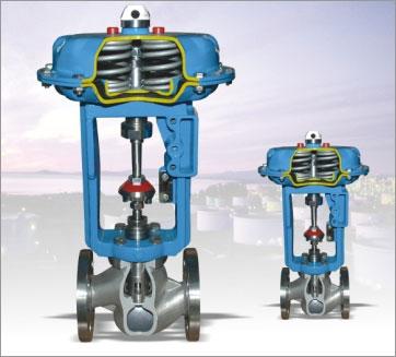 stp,htp系列抛物面阀芯单座笼式调节阀图片