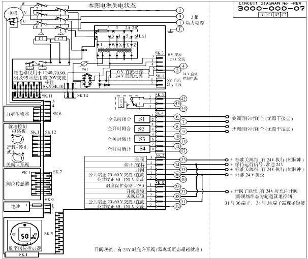 plc 接线图 调节阀分享展示图片