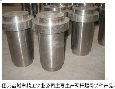 盐城市精工铸业:形成d-2阀杆螺母国内产量最大的企业图片