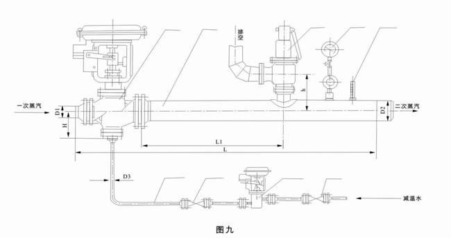 减温减压装置-产品描述,产品参数-上海大田阀门图片